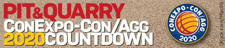 Pit & Quarry ConExpo-Con/Agg 2020 Countdown